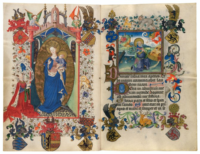 The Hours of Catherine of Cleves, Image Credit: Faksimile Verlag Luzern
