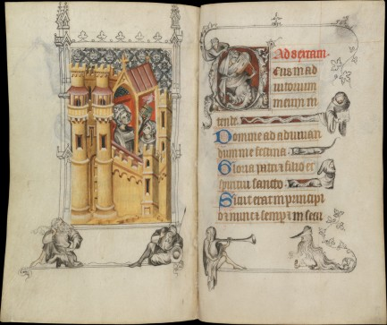 Hours of Jeanne d'Evreux, Image Credit: The Met Museum
