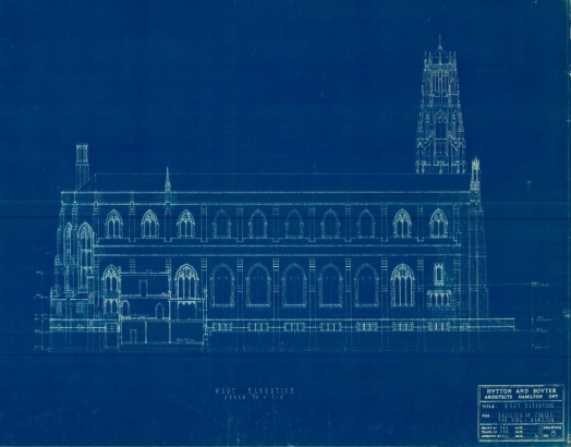 Cathedral west elevation